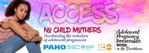 Adolescent Pregnancy Prevention-Caribbean digital banner-access