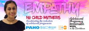 Adolescent Pregnancy Prevention-Caribbean digital banner-empathy