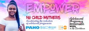 Adolescent Pregnancy Prevention-Caribbean digital banner-empower