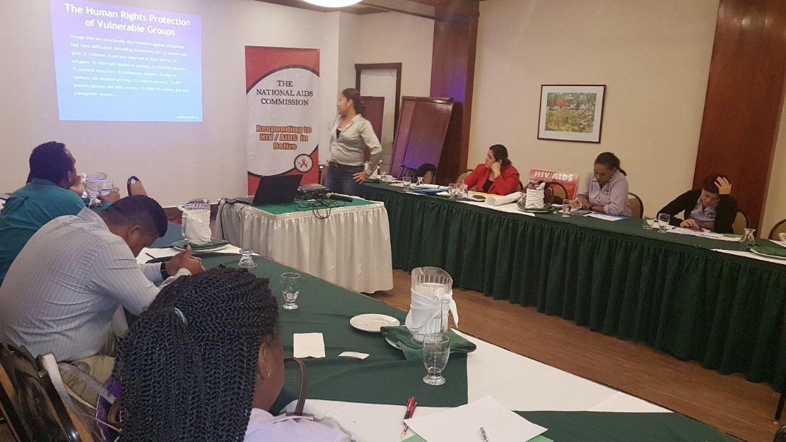 NAC (Belize) collaborates with Ministry of Labour for HIV